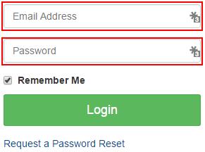 Logging into Client Management Portal